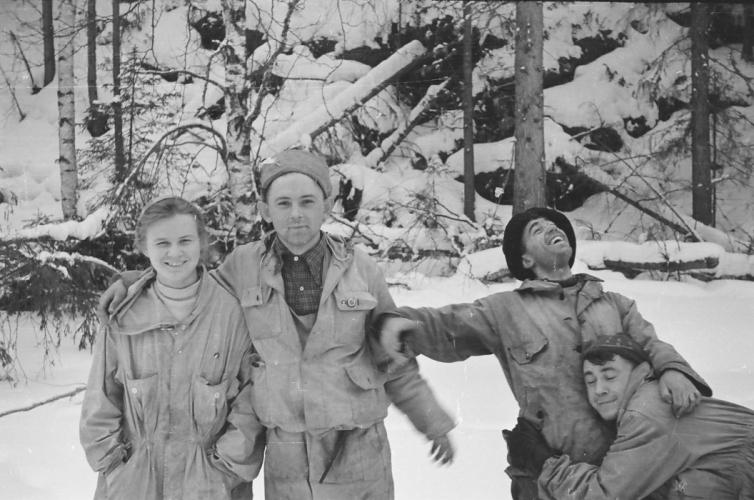 Lyudmila Dubinina, Yuri Krivonishchenko,Nikolay Thibault-Brignoles, Rustem Slobodin