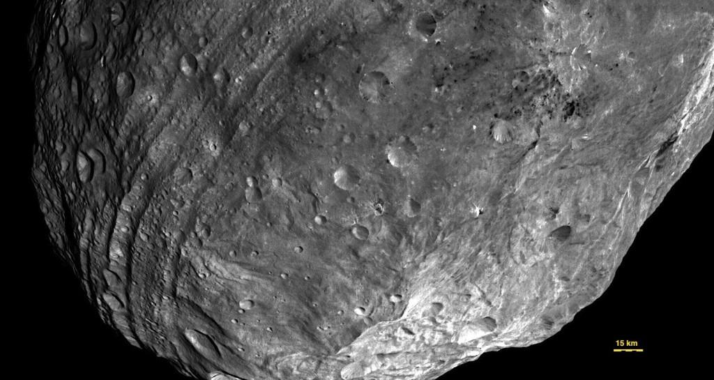 Asteroidul Vesta- Poza efectuata de sonda spatiala DAWN