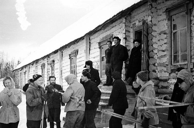 Mmembrii expeditiei din Trecatoarea Dyatlov inainte de a plecare