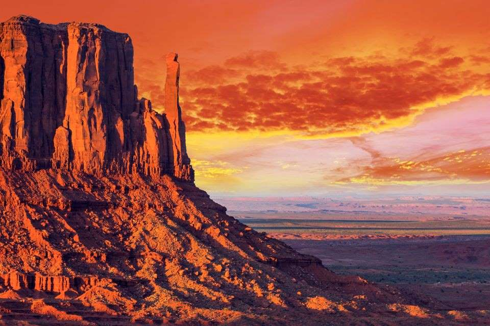 2. Mitten Butte in Monument Valley, Utah, SUA - © Filip Fuxa