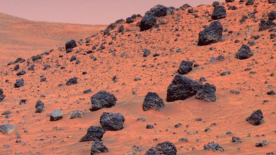 meteoriti gasiti pe Marte