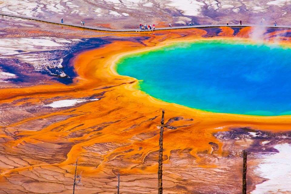 7. Izvorul Grand Prismatic, Wyoming, SUA - © Iorcel