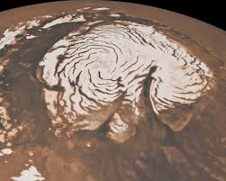 Planeta Marte – Polul Nord