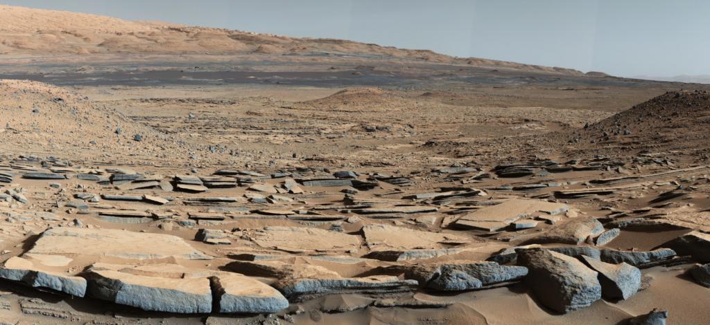 pesisaj de pe Marte