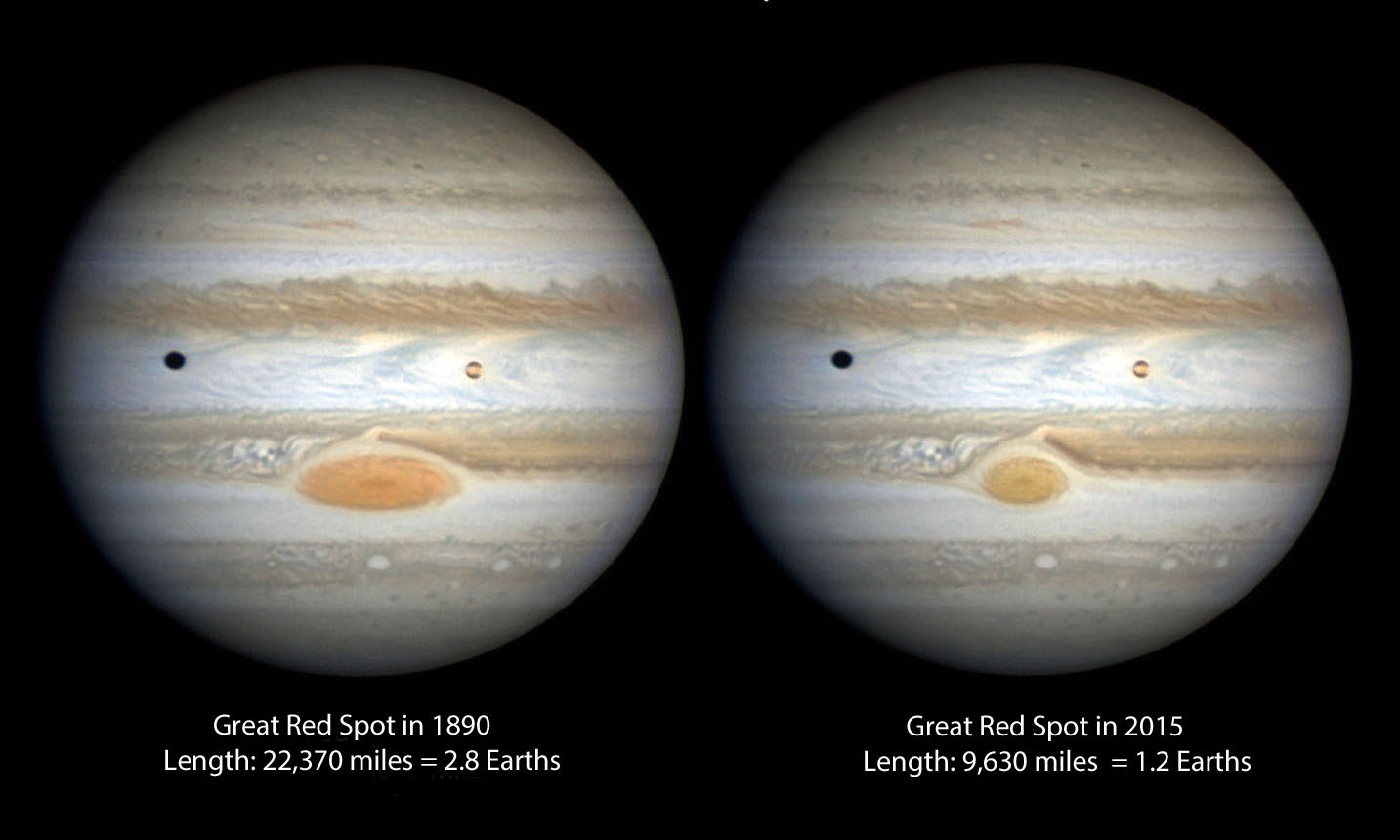 miscarea furtunii in atmosfera lui Jupiter